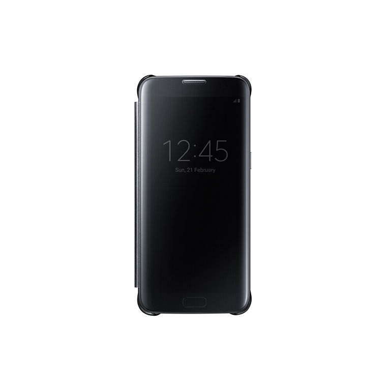 Samsung Clear View Cover pro S7 edge(G935) Black