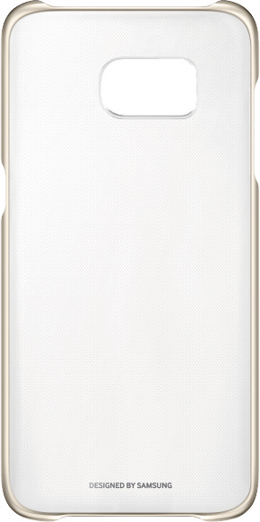 Samsung Clear Cover pro S7 edge(G935) Gold