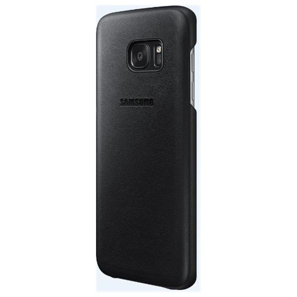 Samsung Leather Cover pro S7 edge(G935) Black