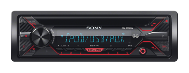 Sony autorádio CDX-G3200U CD/MP3,USB/AUX,
