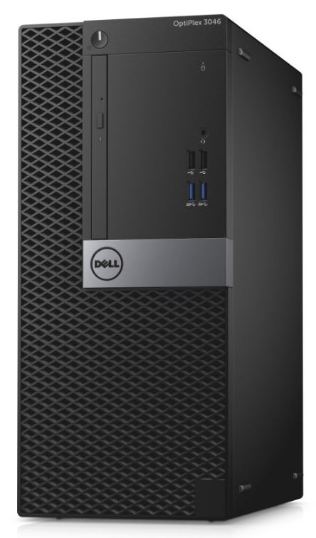 Dell PC Optiplex 3046M i3-6100/4GB/500GB/DP/HDMI/DVD-RW/W10P/3RNBD/Čer