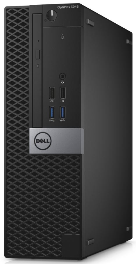 Dell PC Optiplex 3046S i3-6100/4GB/500GB/DP/HDMI/DVD-RW/W10P/3RNBD/Čer