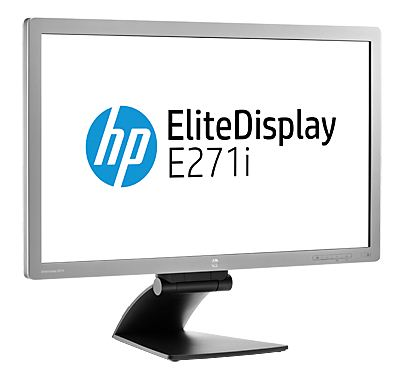 "HP E271i 27"" IPS 1920x1080/250/1000:1/VGA/DVI/DP"