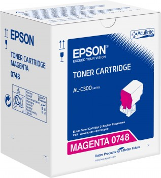 Toner Cartridge Magenta pro EpsonWorkForce AL-C300