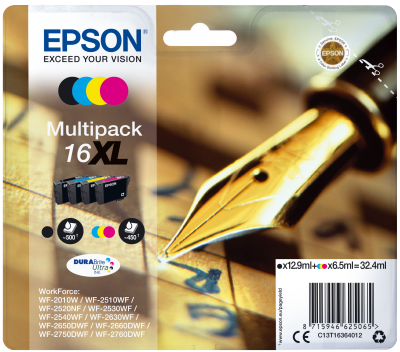 Epson 16XL Series 'Pen and Crossword' multipack