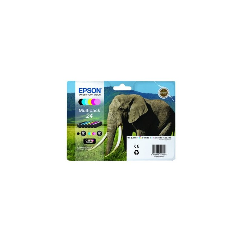 Epson Multipack 6-colours 24 Claria Photo HD Ink
