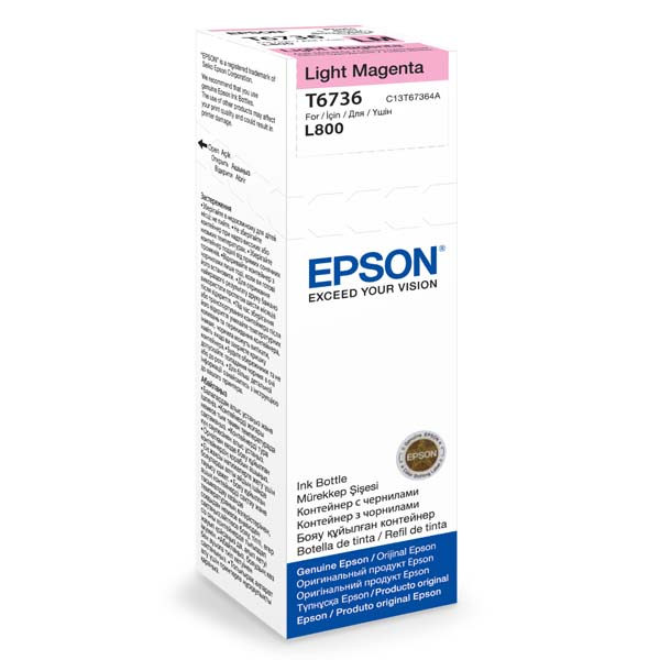 Epson T6736 Light Magenta ink 70ml pro L800