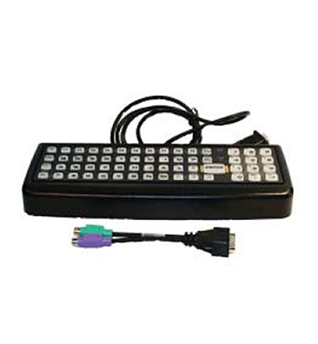 Honeywell 60 key Rugged Keyboard, QWERTY, PS2,WX8 adap.cable