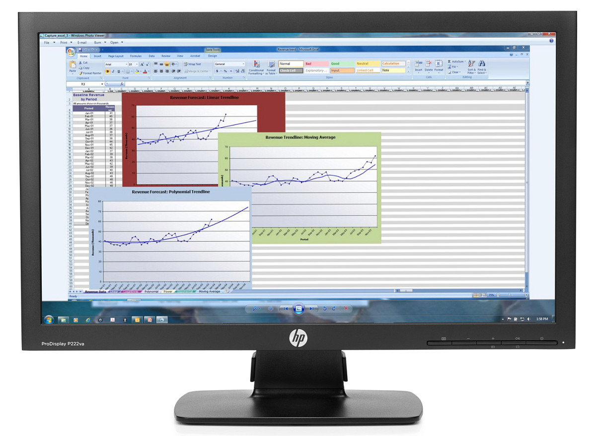 "HP P222va 21.5""LED 1920x1080/250/3000:1/VGA/DP/8ms"
