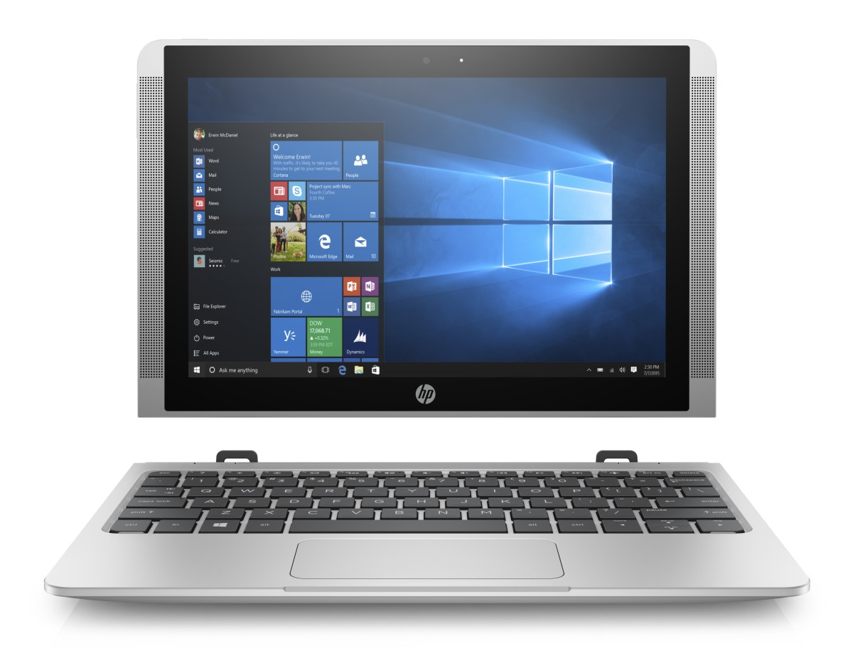 "HP x2 210 G2 10.1"" X5-Z8350/4GB/64GB/W10Home"
