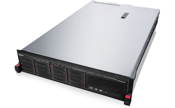 ThinkServer RD450 Rack/E5-2620/1x8GB/DVD/750W Platinum