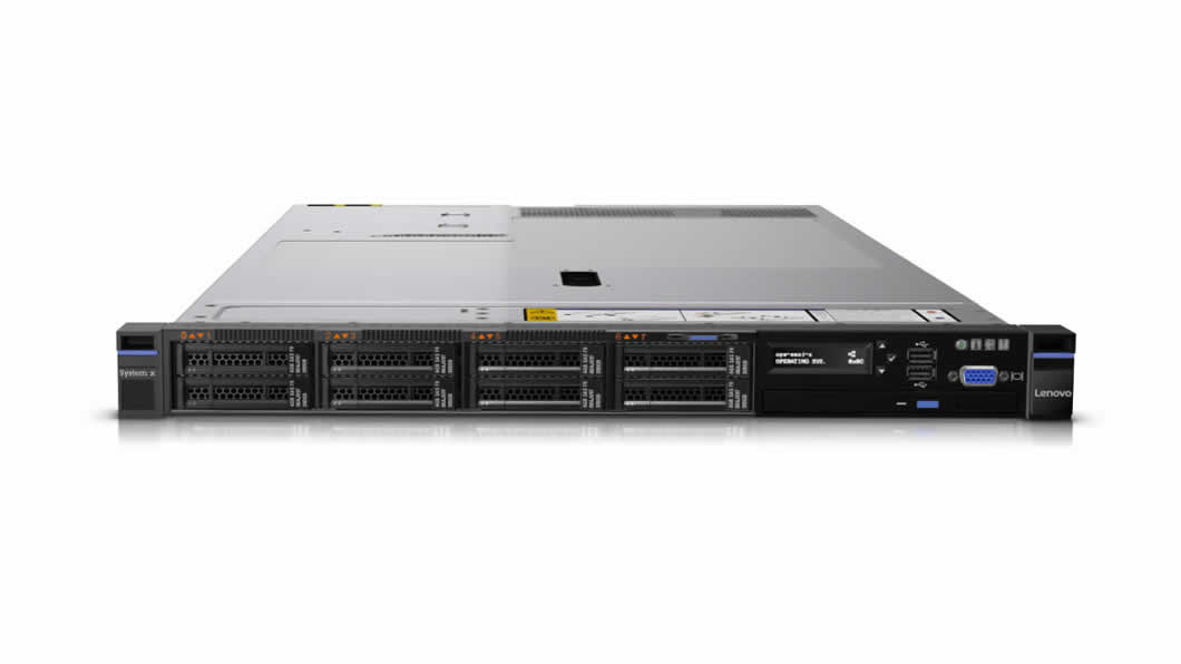 x3550 Rack/E5-2620v4/1x16GB/550W/SFF