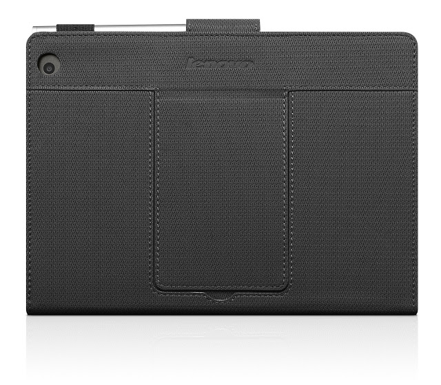 Miix 3 8 Folio case black + stylus