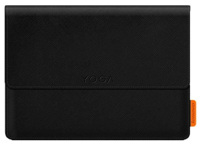 Yoga tablet 3 8 sleeve and film Black