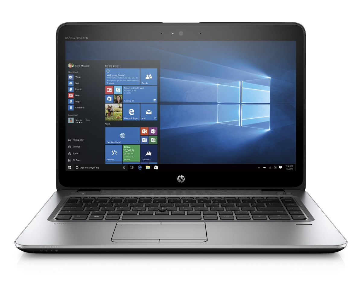 "HP EliteBook 745 G3 14"" HD A10-8700B/4GB/500GB/VGA/DP/RJ45/WIFI/BT/MCR"