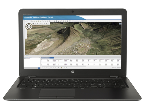 HP ZBook 15 G3 UHD/i7-6820HQ/16GB/512SSD/NV/VGA/HDMI/TB/RJ45/WIFI/BT/M