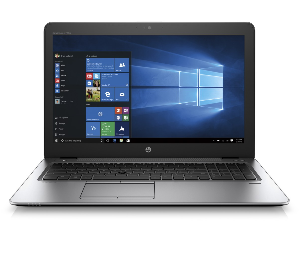 HP EliteBook 850 G4 15.6 FHD/i7-7500U/16GB/512SSD/ATI/4G/WIFI/BT/MCR/F