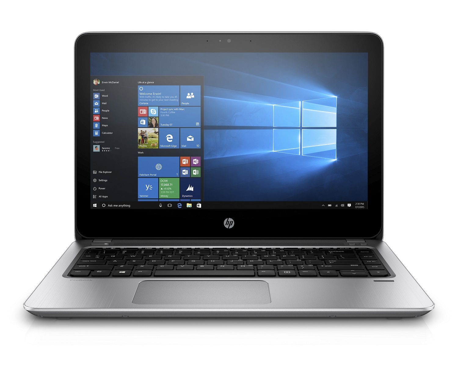 "HP ProBook 430 G4 13.3"" HD/i3-7100U/4G/128SSD/VGA/HDMI/RJ45/WIFI/BT/MC"