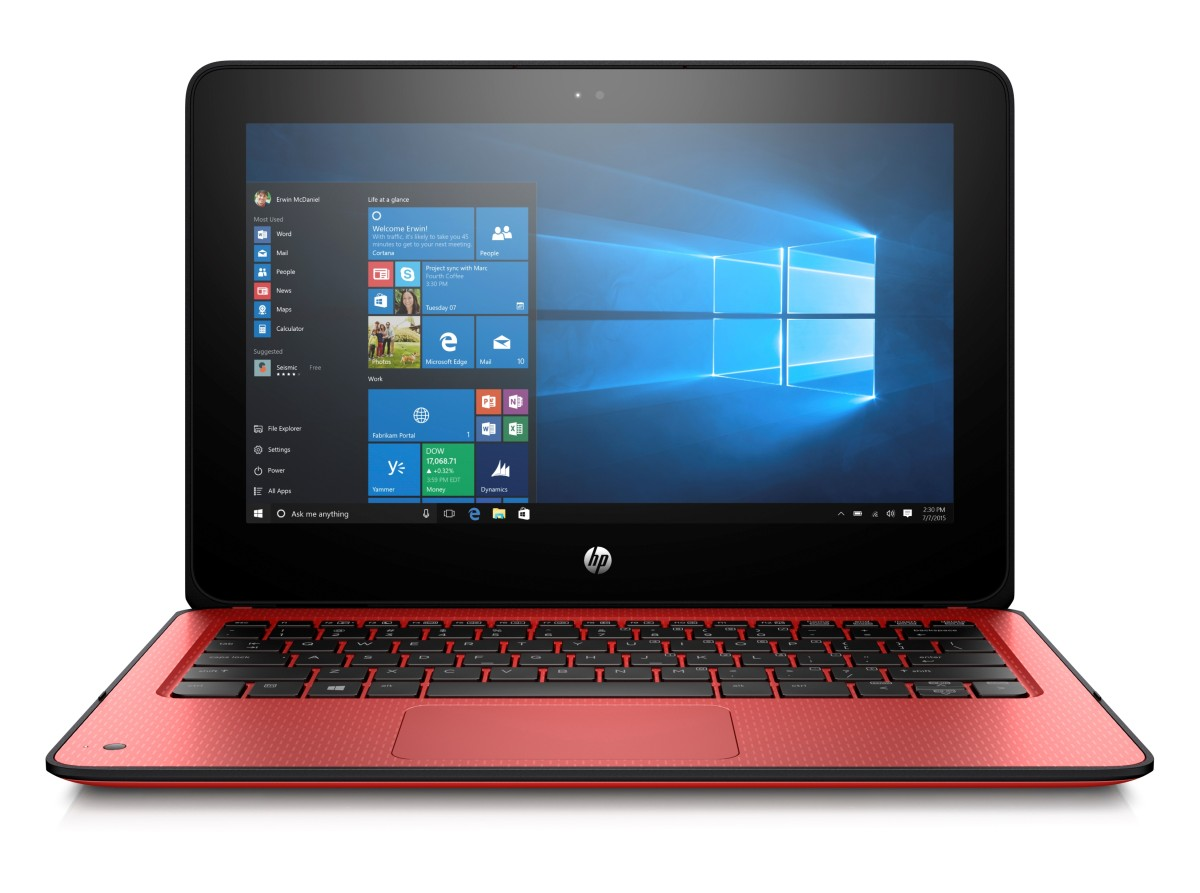 HP ProBook x360 G1 N4200/4GB/128SSSD/1RServis/W10-red
